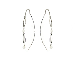 14K DANGLING FASHION EARRINGS